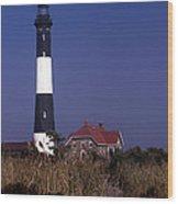 Fire Island Ny Lighthouse Wood Print