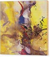 Fire Smoke And Brimstone II Wood Print
