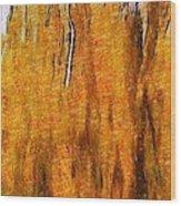 Fire Spirits Wood Print
