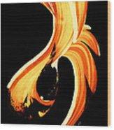 Fire Water 260 By Sharon Cummings Wood Print