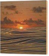 Fire2 Wood Print