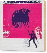 Firecreek, Us Poster, Bottom From Left Wood Print