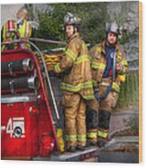 Firefighting - Only You Can Prevent Fires Wood Print