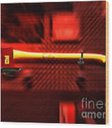 Firemen Ax Wood Print