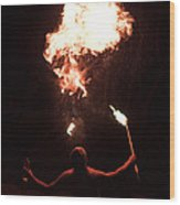 Firespitter Wood Print