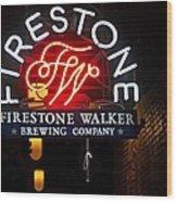 Firestone Walker Brewing Company Wood Print