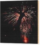 Firetree Wood Print