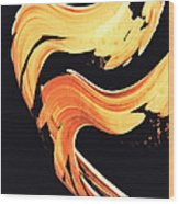 Firewater 5 - Abstract Art By Sharon Cummings Wood Print
