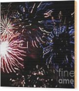 Firework - Saint Denis - Ile De La Reunion - Reunin Island - Indian Ocean Wood Print