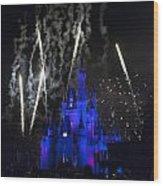 Fireworks-0703 Wood Print