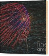 Fireworks 070414.222 Wood Print