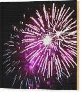 Fireworks 11 Wood Print