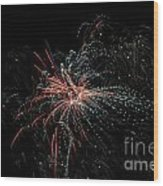 Fireworks 15 Wood Print