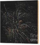 Fireworks 16 Wood Print