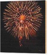 Fireworks 2014  13 Wood Print