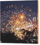 Fireworks 2014  7 Wood Print