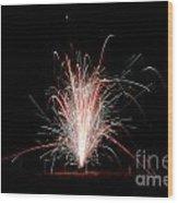 Fireworks 24 Wood Print