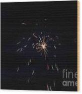 Fireworks 28 Wood Print