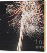Fireworks 45 Wood Print