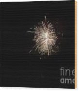 Fireworks 51 Wood Print
