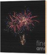 Fireworks 52 Wood Print