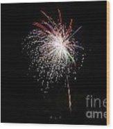 Fireworks 53 Wood Print