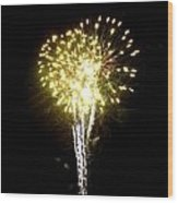 Fireworks 9 Wood Print by Mark Malitz