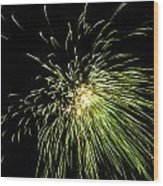 Fireworks Wood Print by Akash Routh