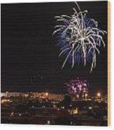 Fireworks Albenga 2013 3765 - Ph Enrico Pelos Wood Print
