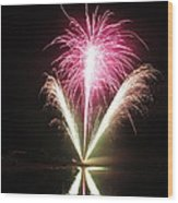 Fireworks At Cooks Wood Print
