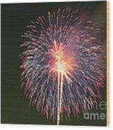 Fireworks At Night 9 Wood Print