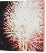 Fireworks By Angela Wood Print by Angelia Hodges Clay