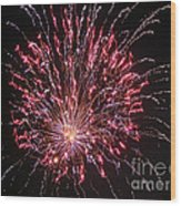 Fireworks For All Wood Print