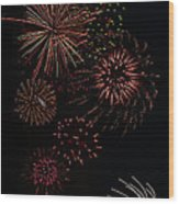 Fireworks - Phone Case Design Wood Print