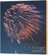 Fireworks Series I Wood Print
