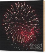 Fireworks Series Ix Wood Print