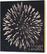 Fireworks Series X Wood Print