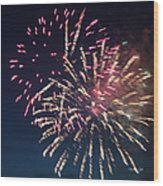 Fireworks Series Xiii Wood Print