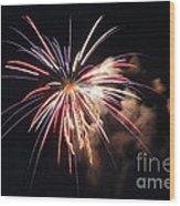 Fireworks Twenty Eleven II Wood Print