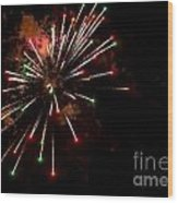 Fireworks2 Wood Print
