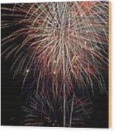 Fireworks6503 Wood Print