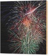 Fireworks6504 Wood Print