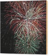 Fireworks6506 Wood Print