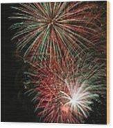Fireworks6509 Wood Print