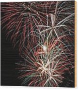 Fireworks6518 Wood Print