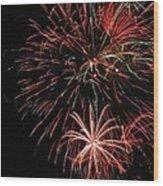 Fireworks6525 Wood Print