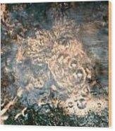 Firey Flow Wood Print