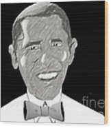 First African American President Wood Print