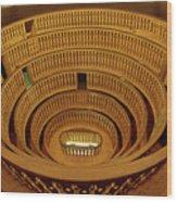 First Anatomy Theatre Wood Print