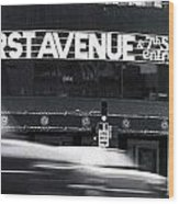 First Avenue Wood Print by Kip Krause